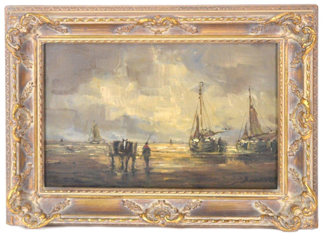 H. Breedveld, Oil on Canvas