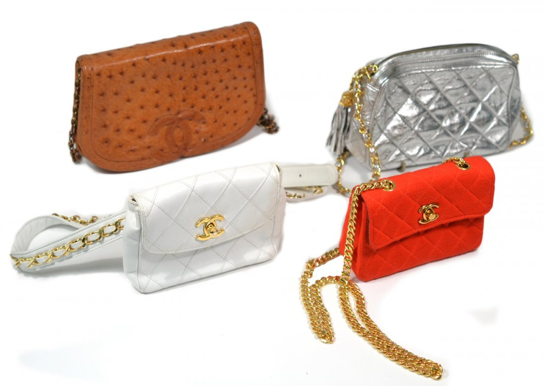 Four Chanel Bags