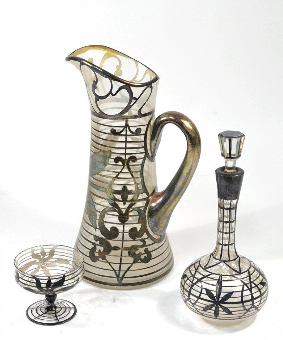 Three-Piece Silver Deposit Set