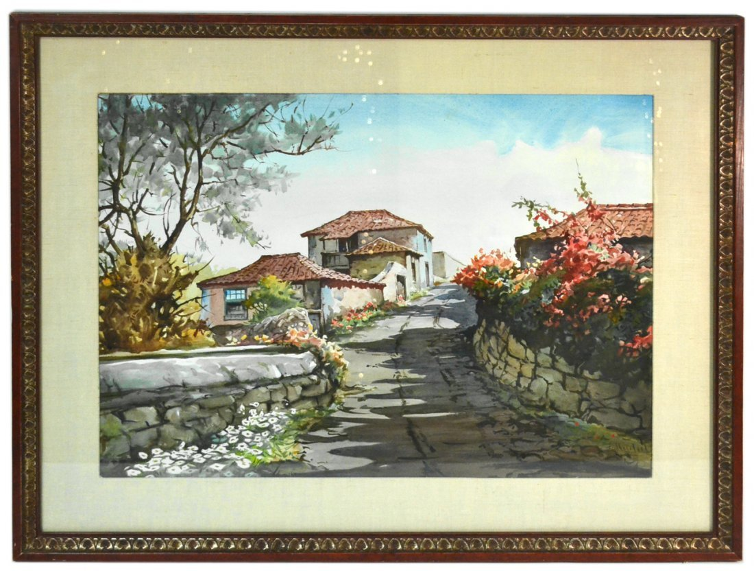 F. Helskeil - Cottage Scene