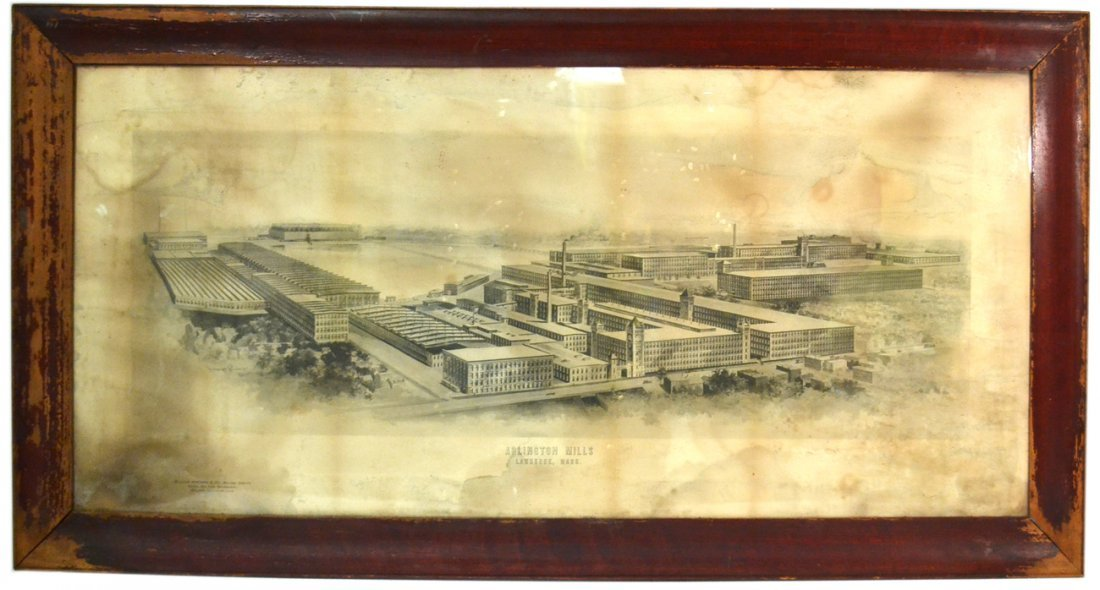 "Print - ""Arlington Mills"""