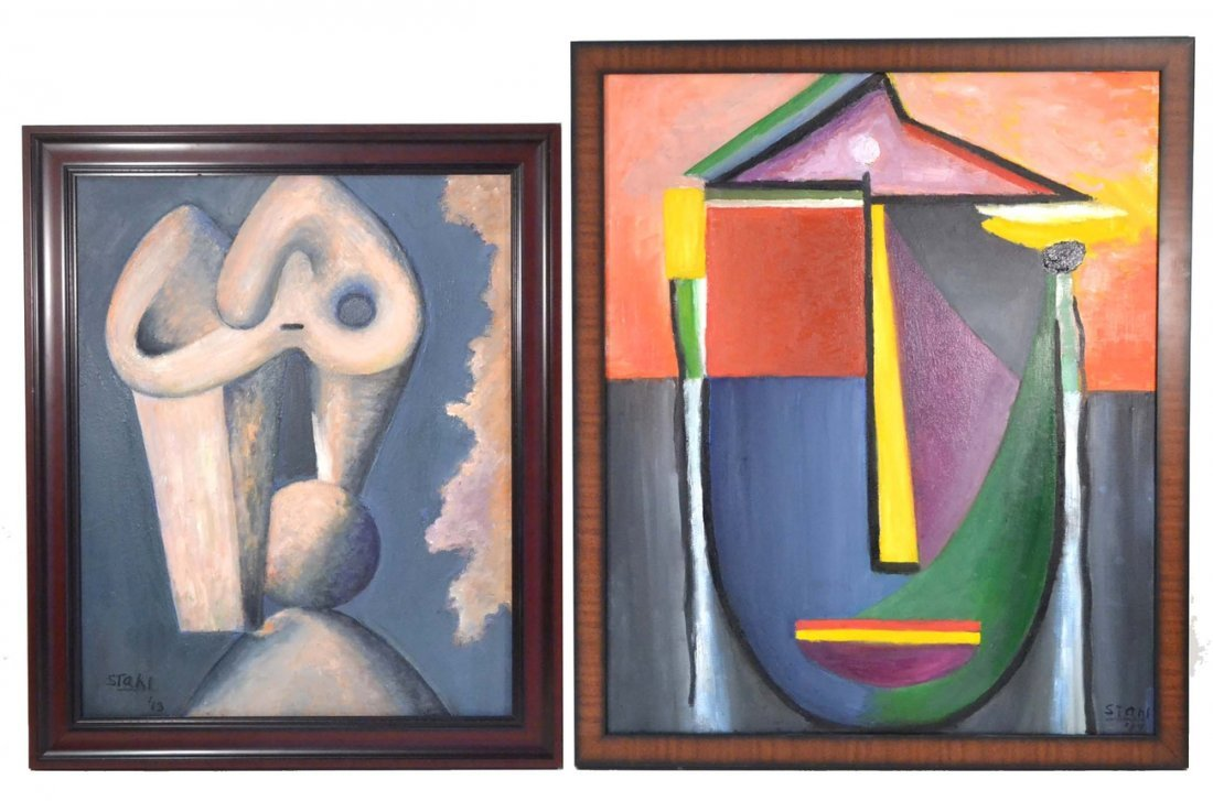 David Stahl, Two Abstracts