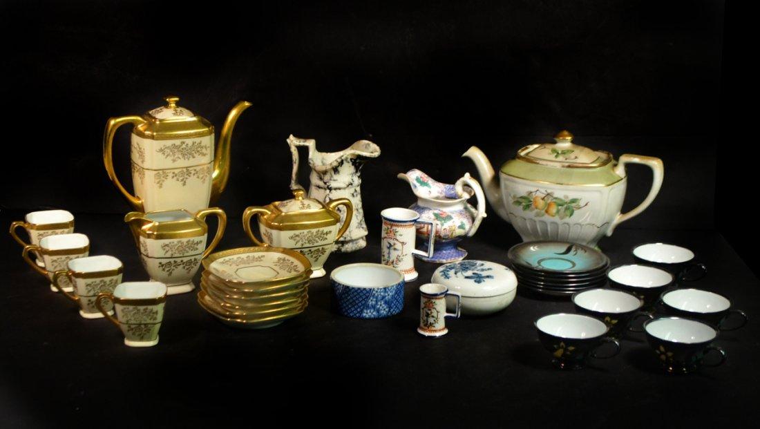 Vintage & Antique Porcelain Tea Articles