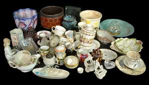 Assorted Ceramic and Glass Articles
