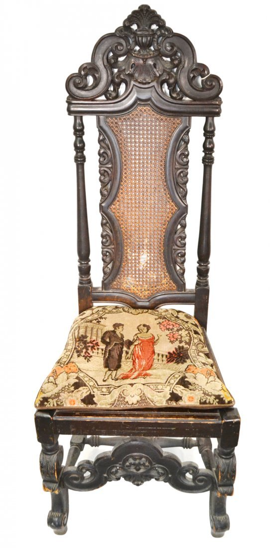 Spanish Colonial-Style Side Chair
