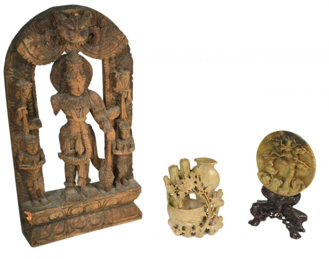 Three Asian Decorative Objects