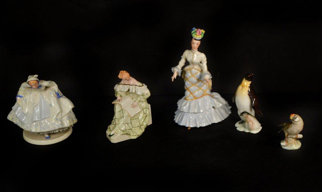 Three Lenox Ladies and Others