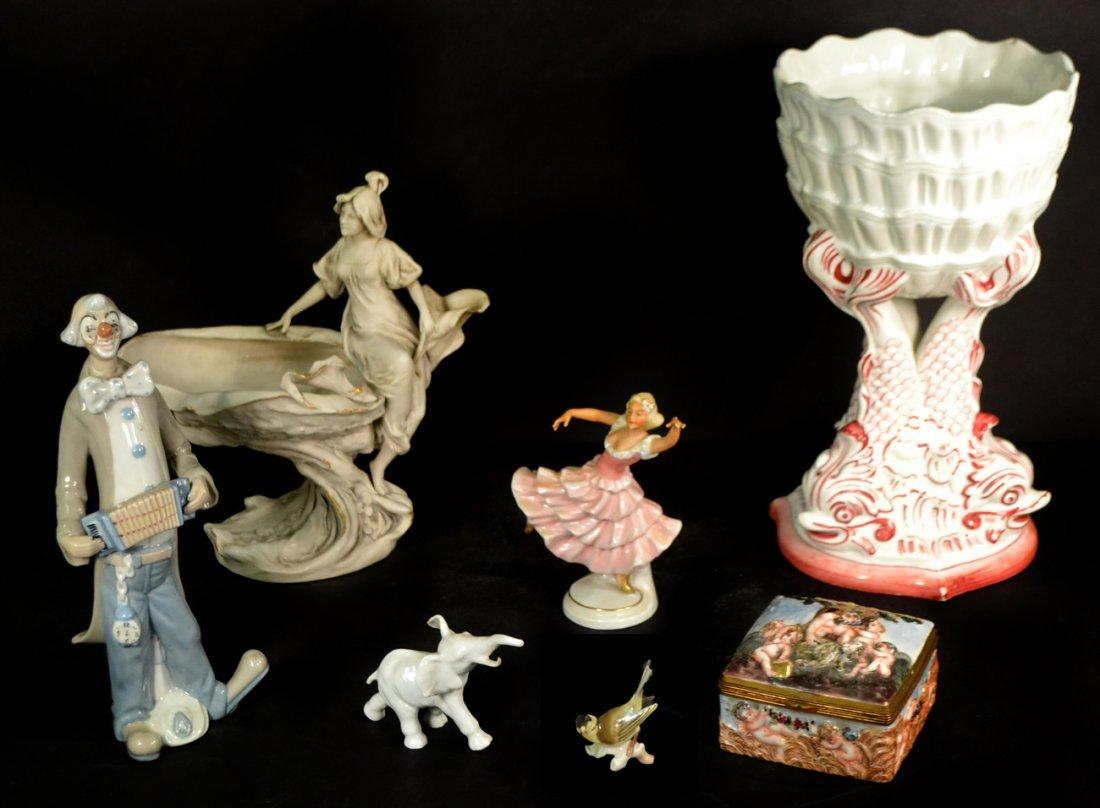 Assorted Vintage European Figurines