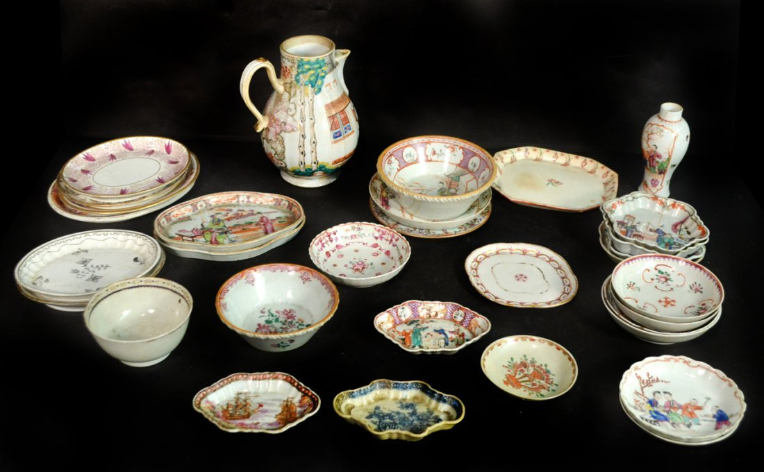 Assorted Chinese & English Porcelain Articles
