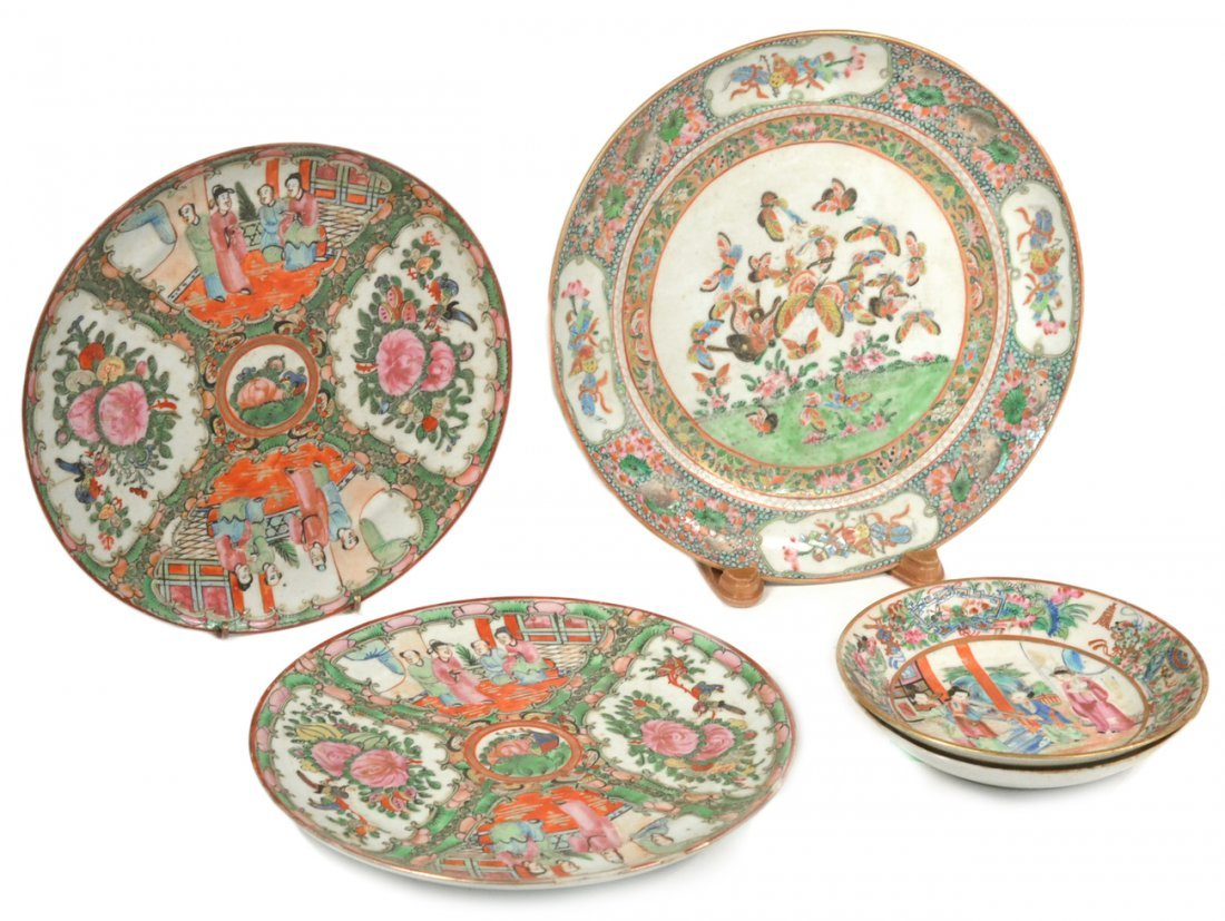 Chinese Rose Medallion and Other