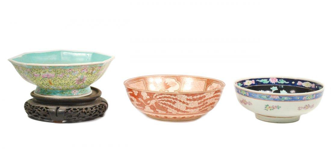 Three Asian Bowls