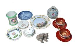 15 Assorted Porcelain and Ceramic Articles