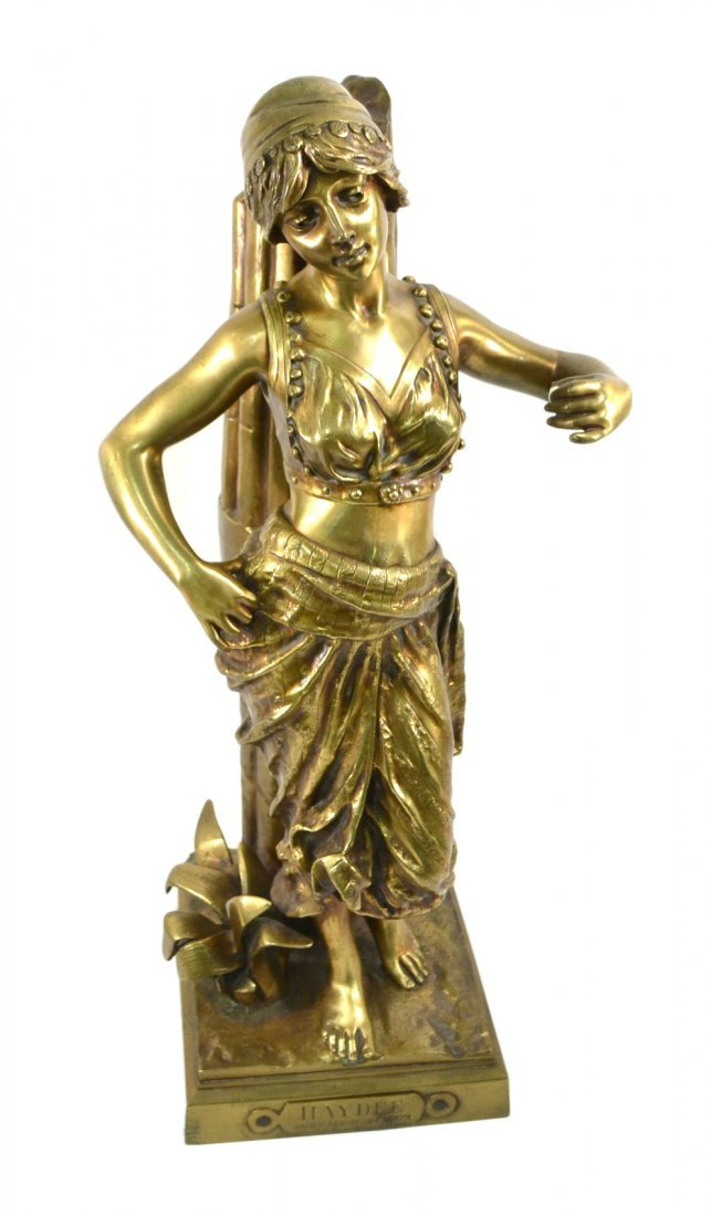 G. Coudray Bronze Female