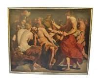 Flemish 17th Century Oil on Canvas