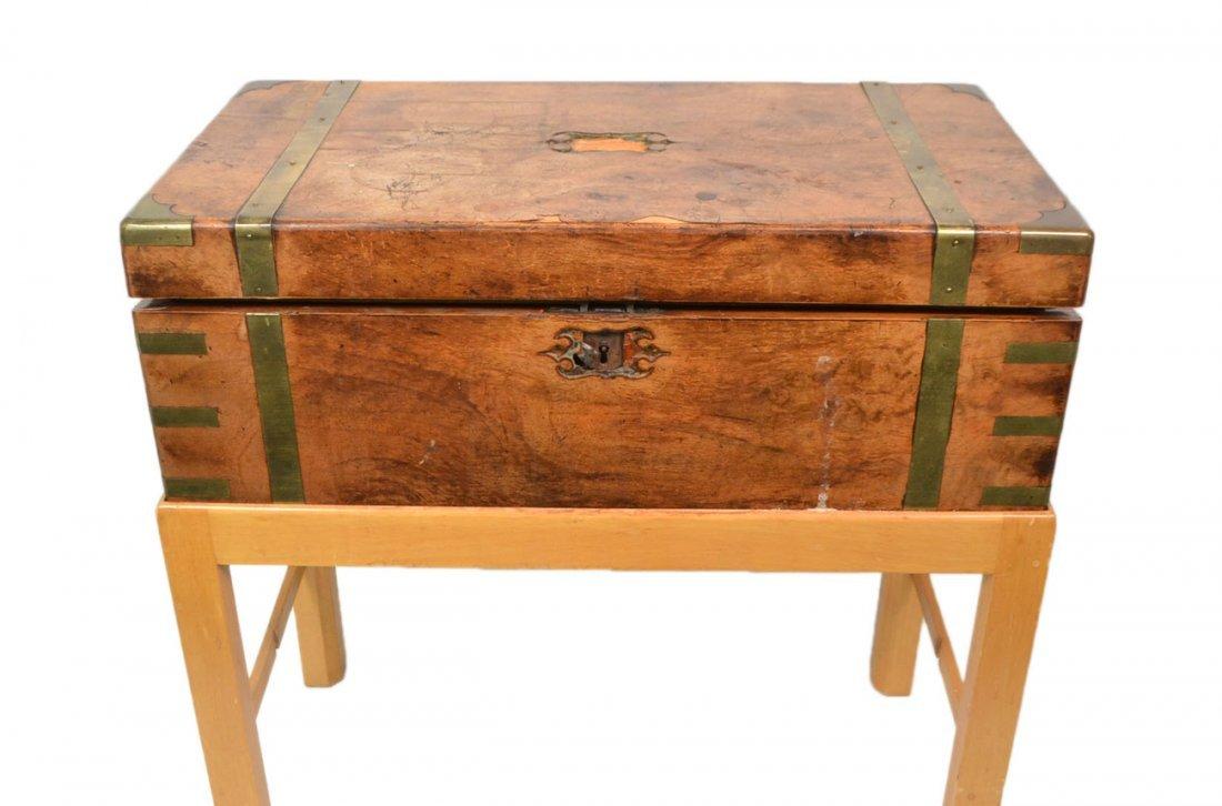 Antique Walnut Lap Desk