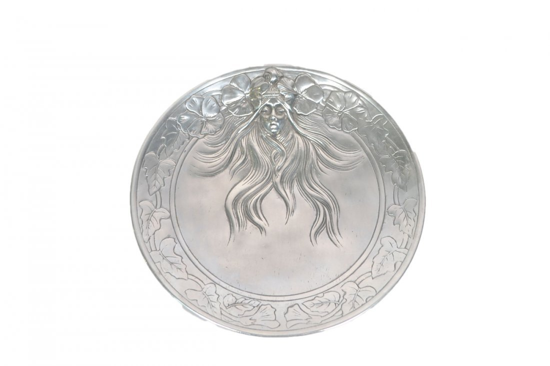 Art Nouveau Style Plate