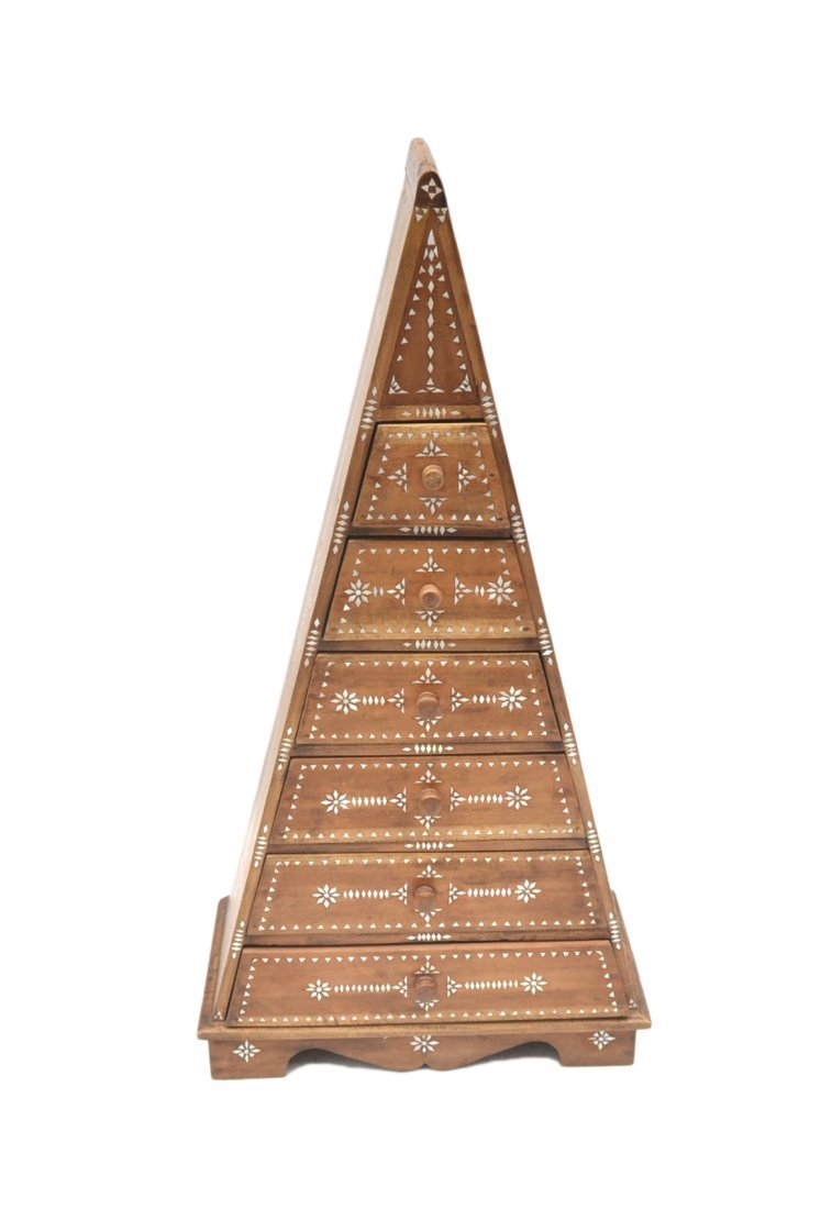 Pyramid Shape Chest Of Drawers