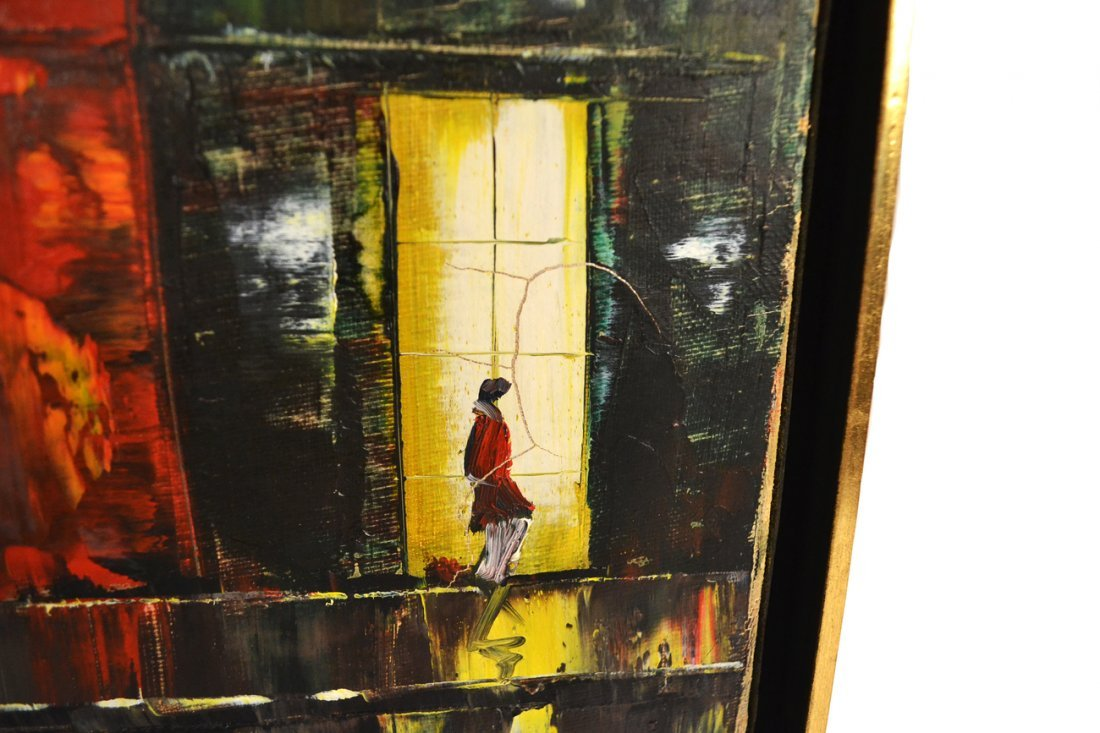 Candelis, Oil on Canvas, Painting - 4