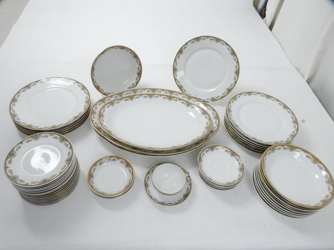 Lot of 50+ Limoges France Coronet Dishes - 2