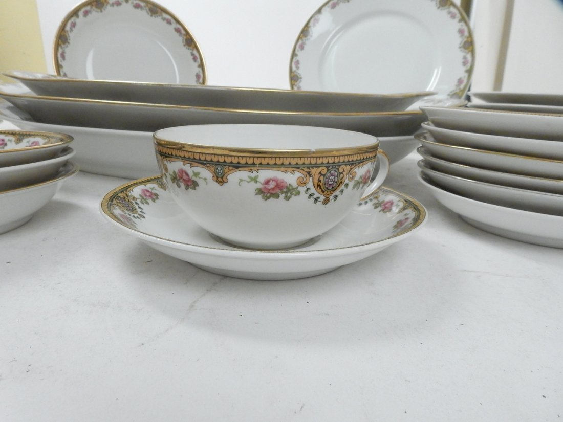 Lot of 50+ Limoges France Coronet Dishes - 6