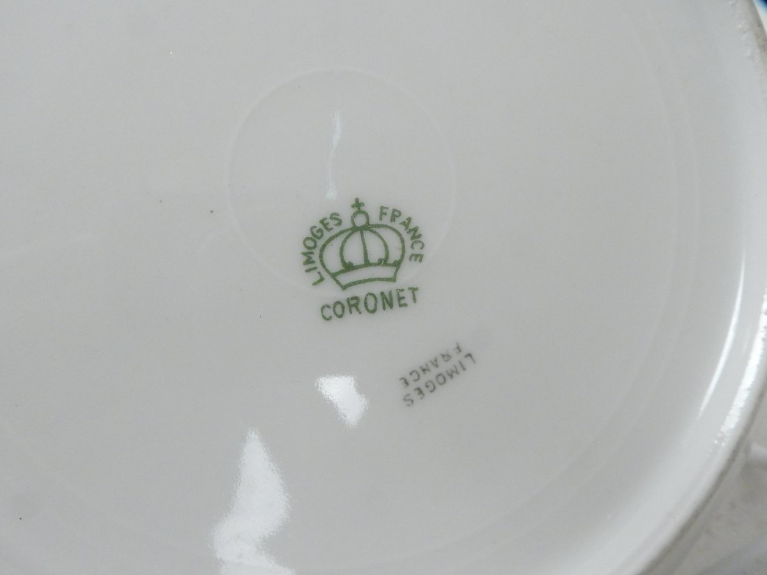 Lot of 50+ Limoges France Coronet Dishes - 8