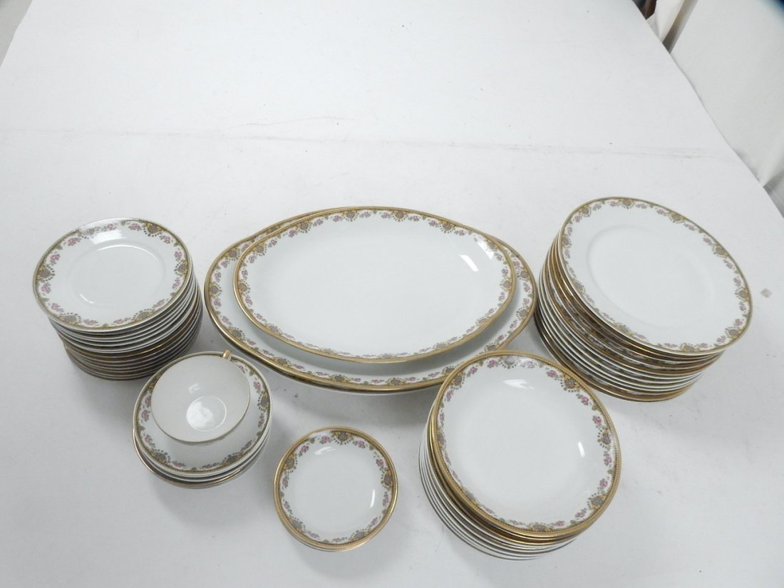 Lot of 50+ Limoges France Coronet Dishes - 9