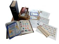 Philately: Assorted International Stamps