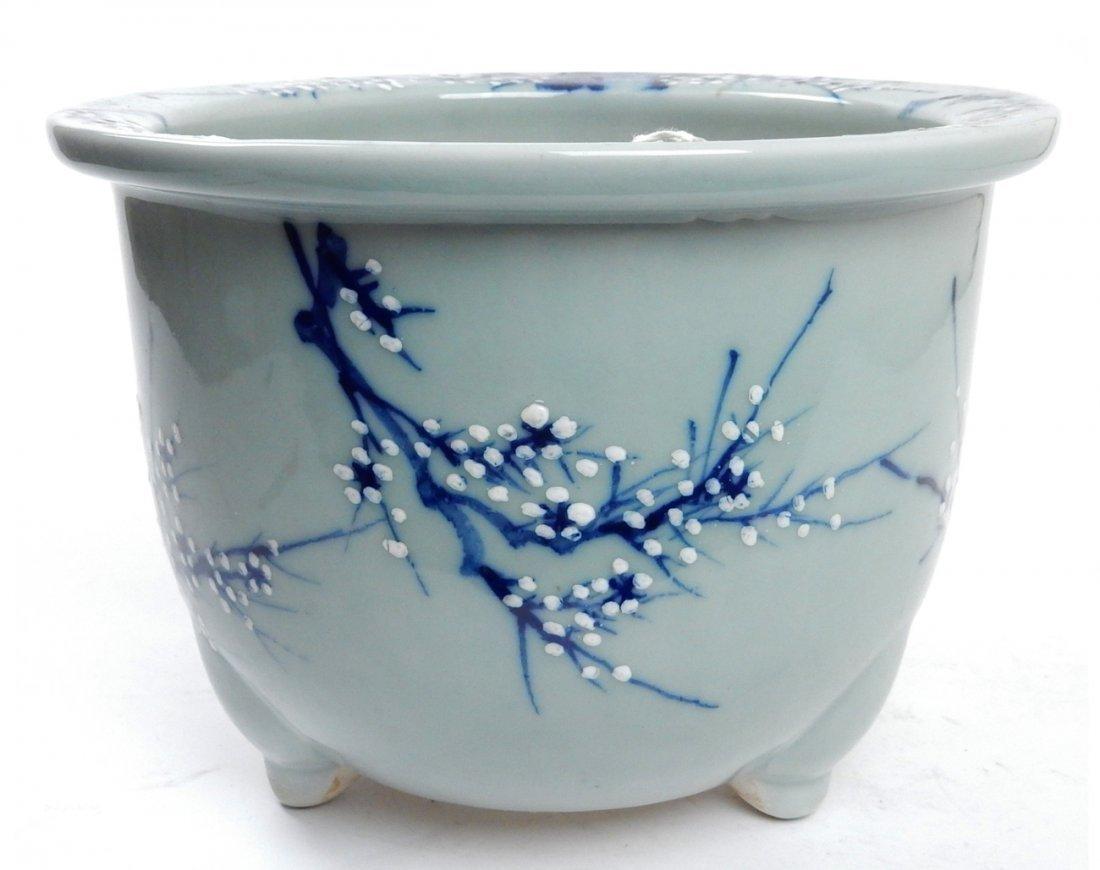 Antique Japanese Ceramic Jardiniere