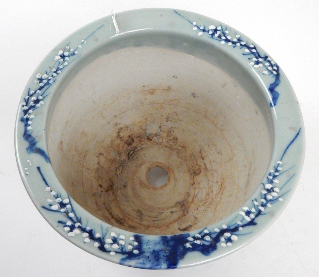 Antique Japanese Ceramic Jardiniere - 3