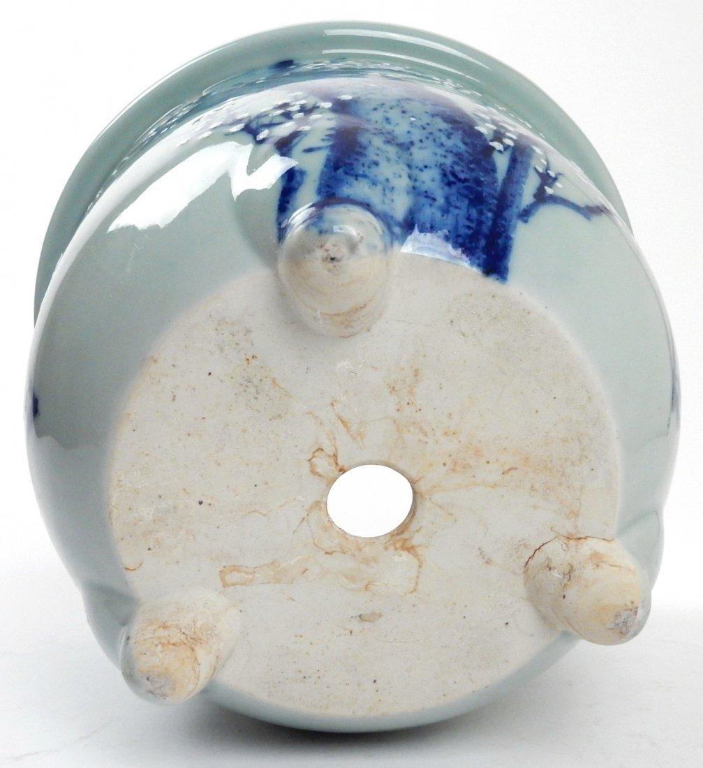 Antique Japanese Ceramic Jardiniere - 4