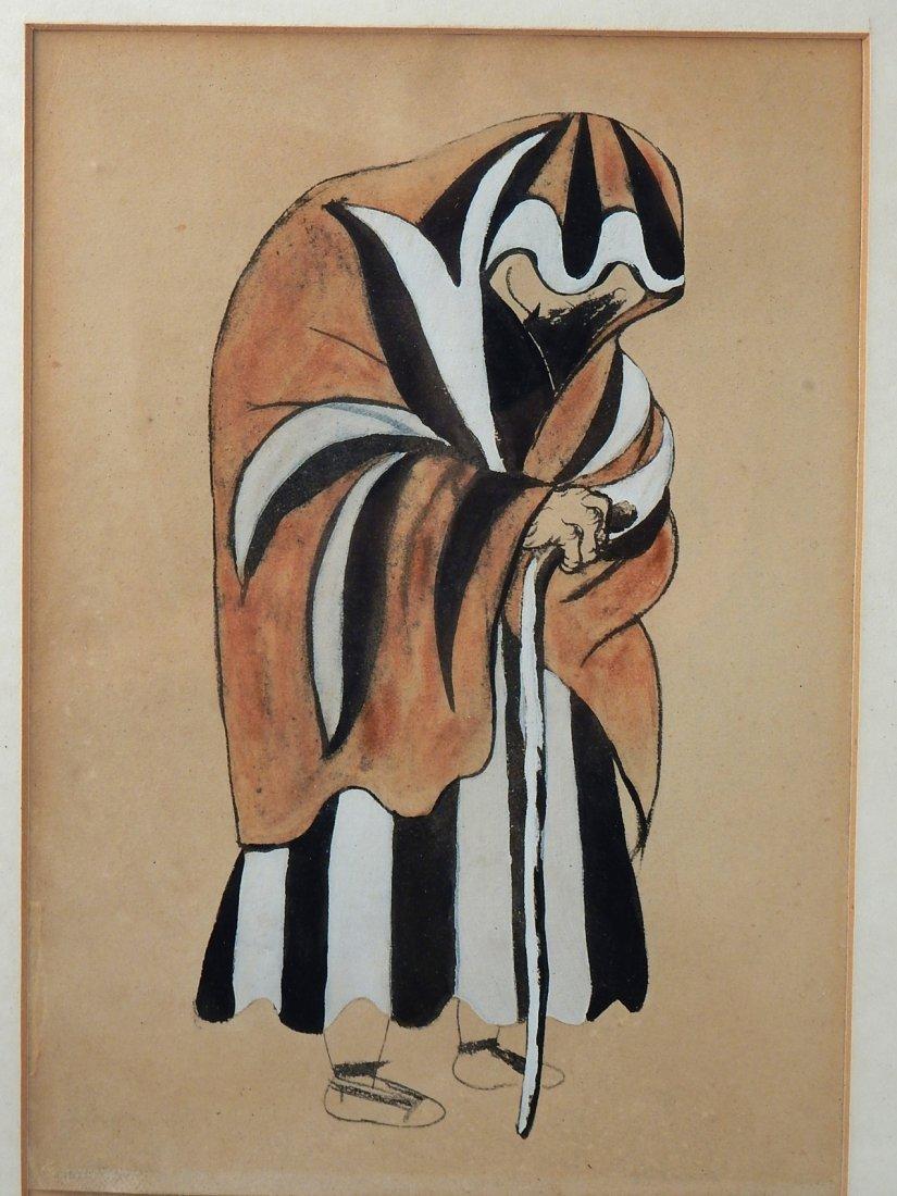 After Pablo Picasso, Pochoir Costume