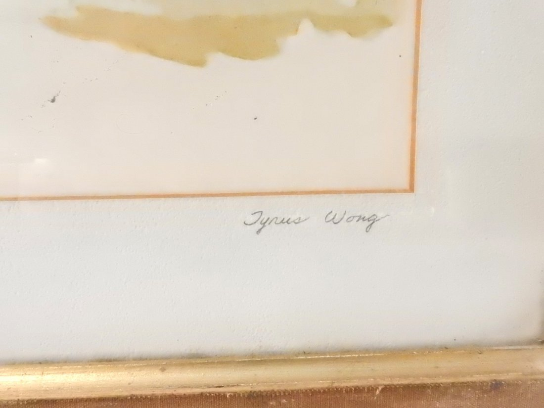 "Tyrus Wong, ""Four Seasons"" Watercolors - 3"