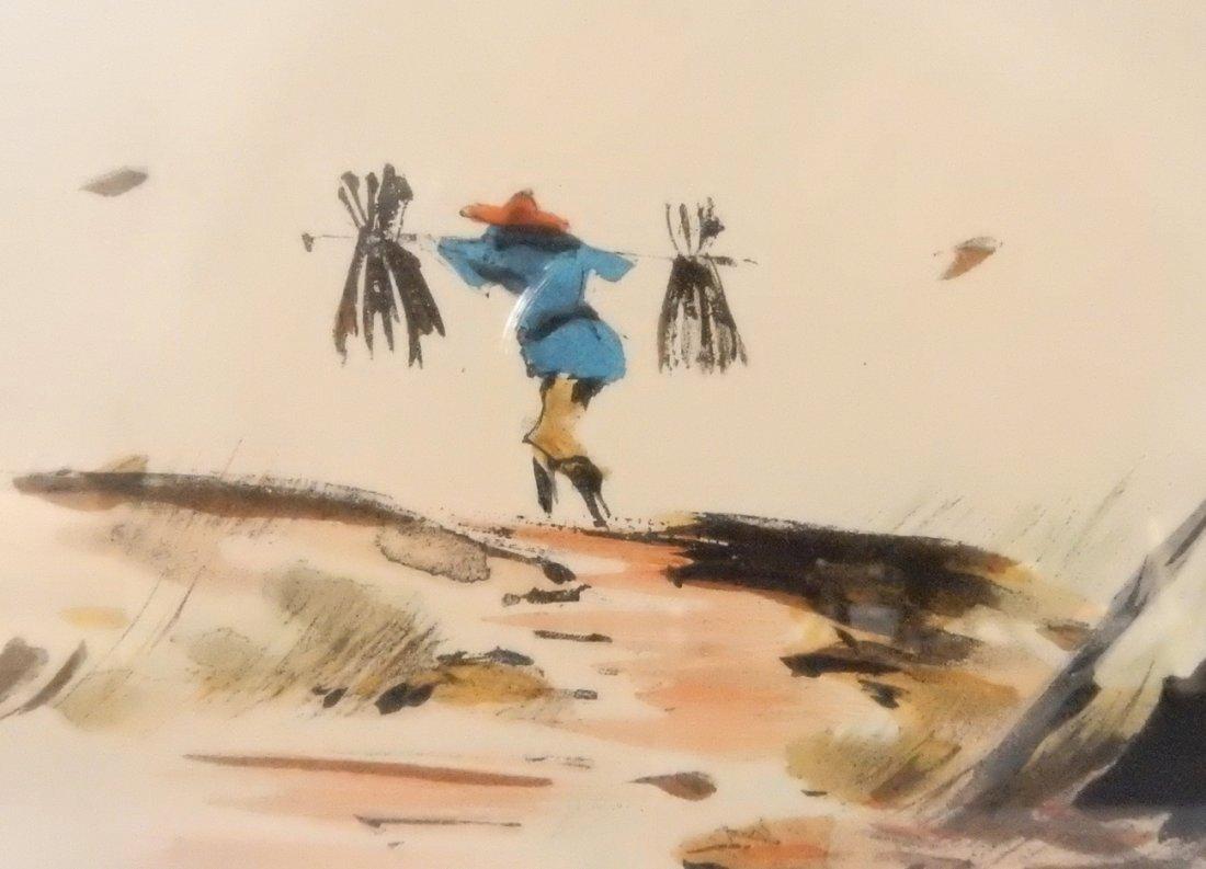"Tyrus Wong, ""Four Seasons"" Watercolors - 4"