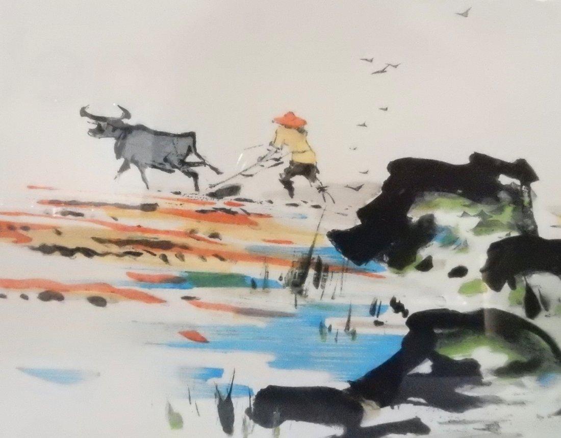 "Tyrus Wong, ""Four Seasons"" Watercolors - 7"