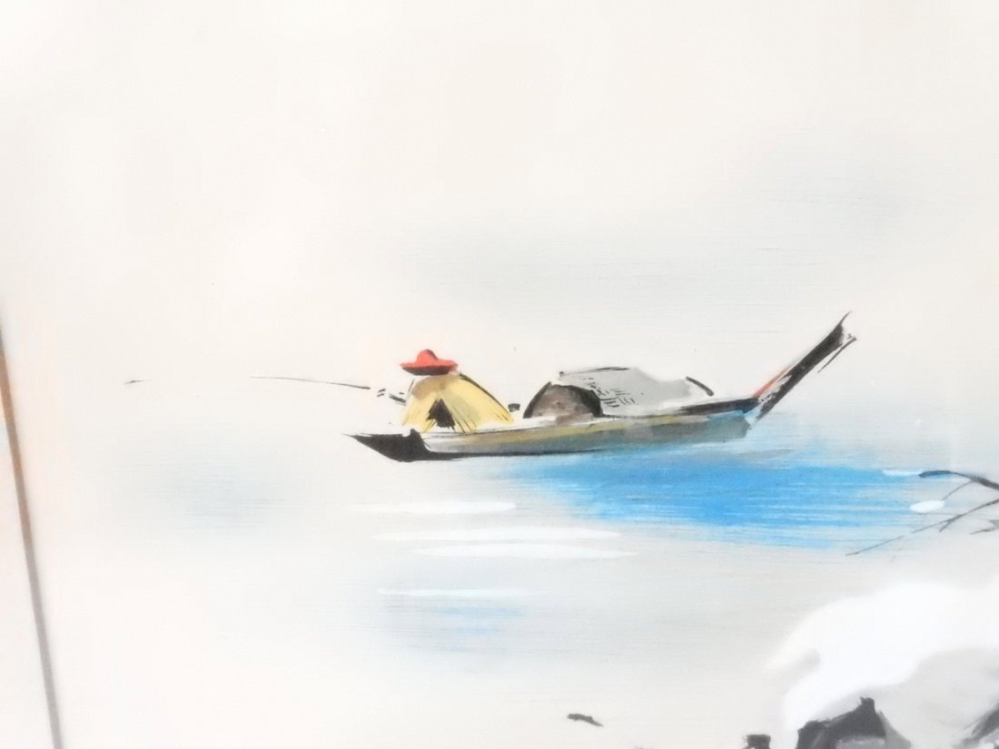 "Tyrus Wong, ""Four Seasons"" Watercolors - 9"