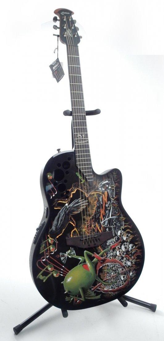 Michael Godard, Embellished Guitar
