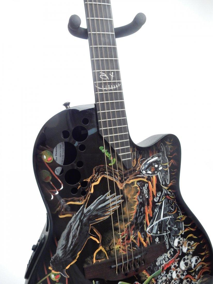 Michael Godard, Embellished Guitar - 3