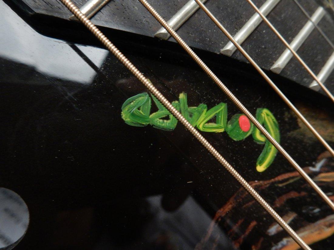 Michael Godard, Embellished Guitar - 4
