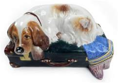 Italian Decorative Ceramic Piece