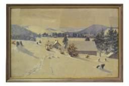 John Wesley Little, Winter Landscape