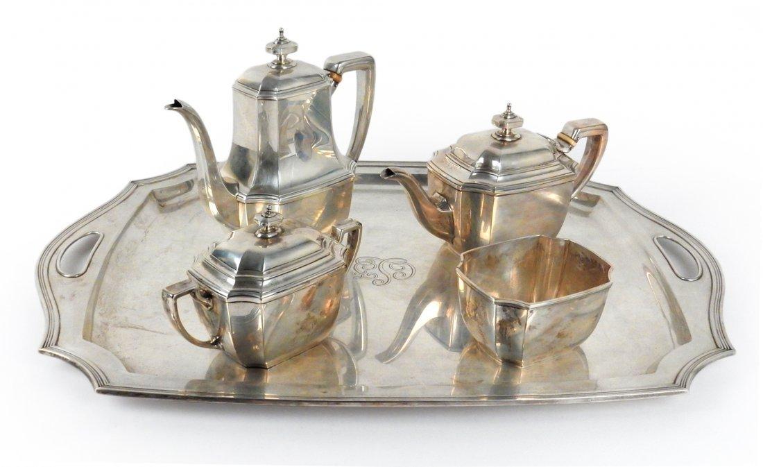 Tiffany & Co Sterling Silver Tea Service