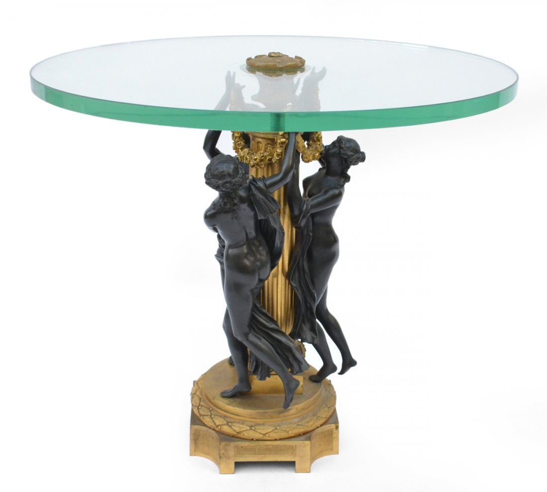 French Cocktail Table, Three Graces