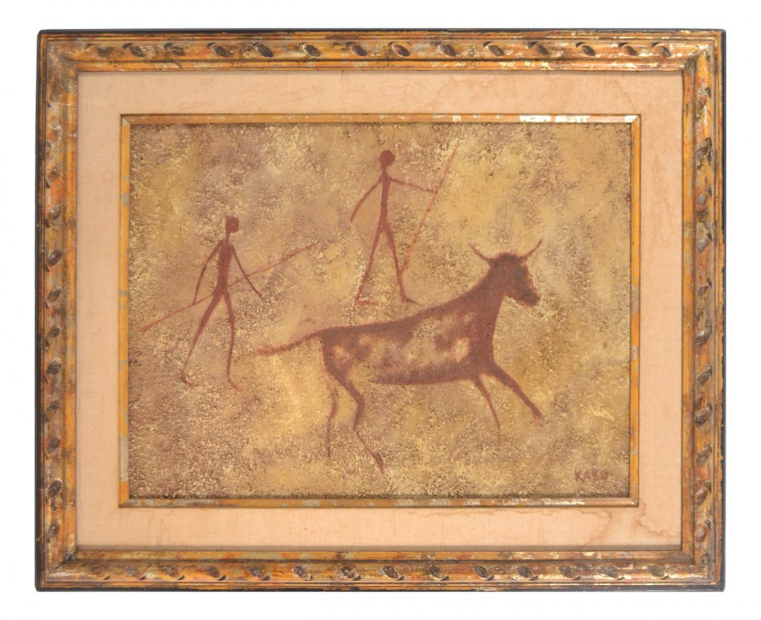 Kabo, Cave Painting Reproduction