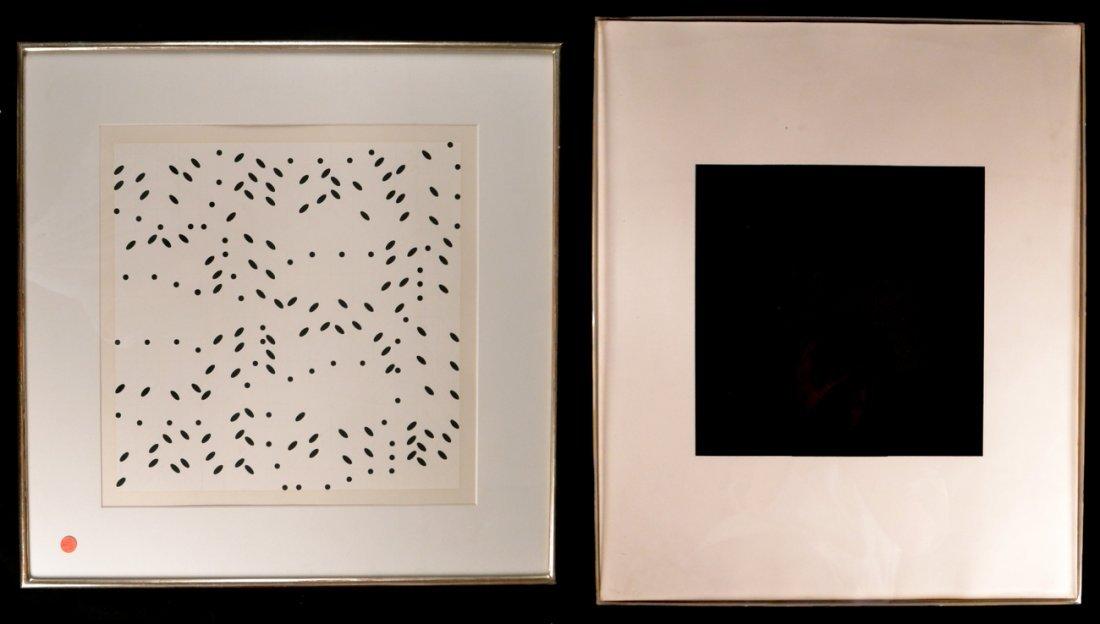 Ad Reinhardt & Larry Poons, Screenprints