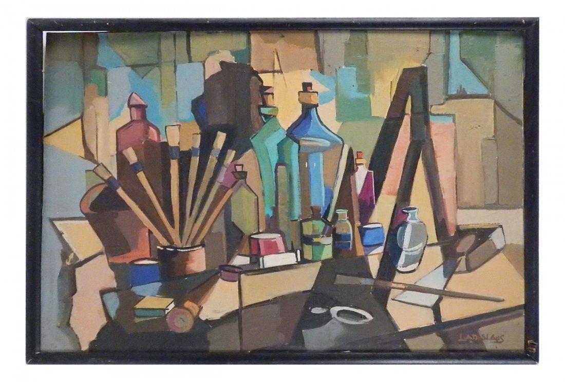 Oil on Canvas, Modern Still Life