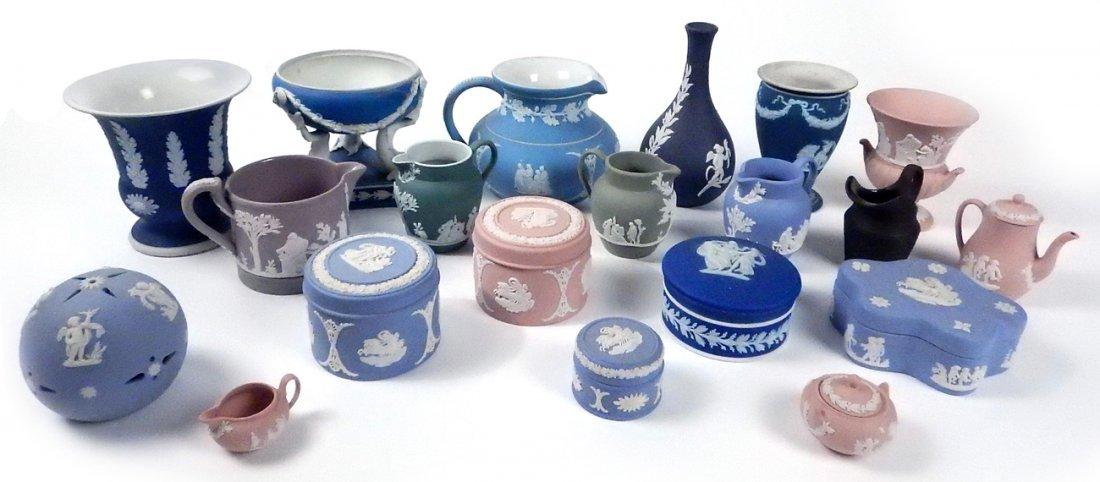 Assorted Vintage Wedgwood Jasperware