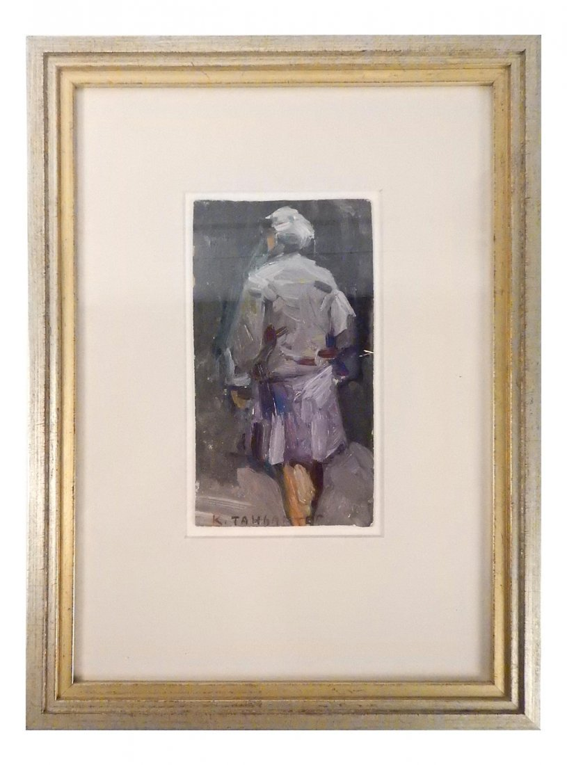 Early 20th C. Impressionist Figure