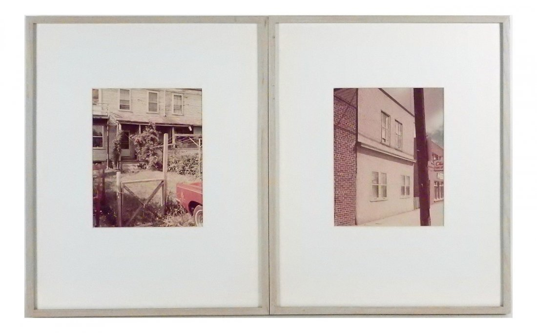 Stephen Shore - Two Photographs 1974