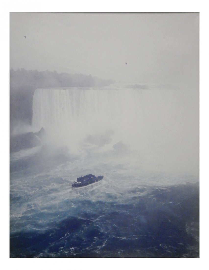"Andreas Gursky Print ""Niagara Falls"" 1989"
