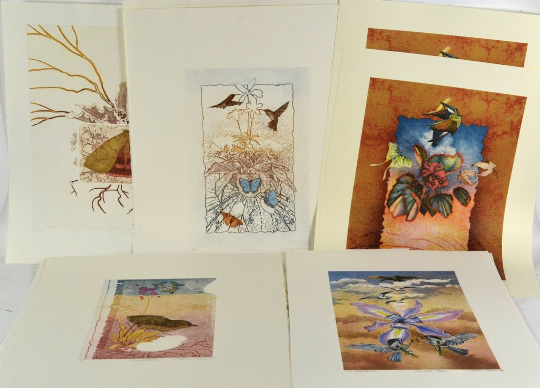 William Marlow, 13 Signed Lithographs